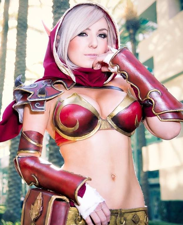 Blood Elf-24 Best Jessica Nigri Cosplays Ever