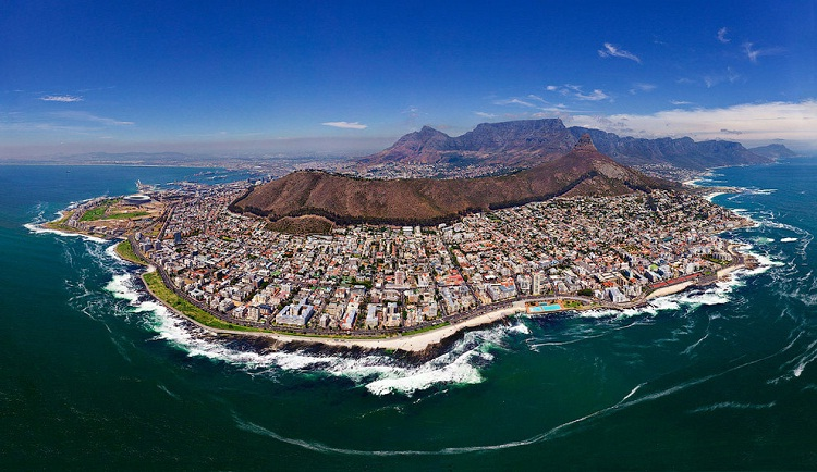 Cape Town-How Our World Appears To A Bird