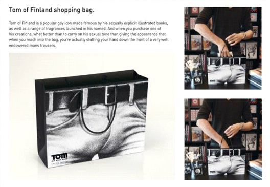 Tom of Finland-24 Most Creative Bag Ads