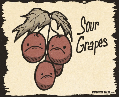 Sour grapes-Where British Phrases Came From