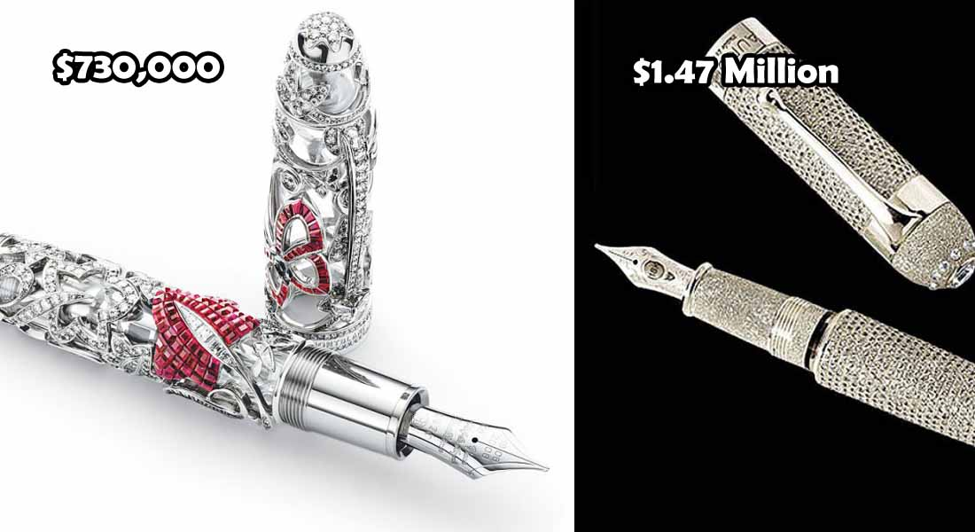 12 Most Expensive Pens In The World