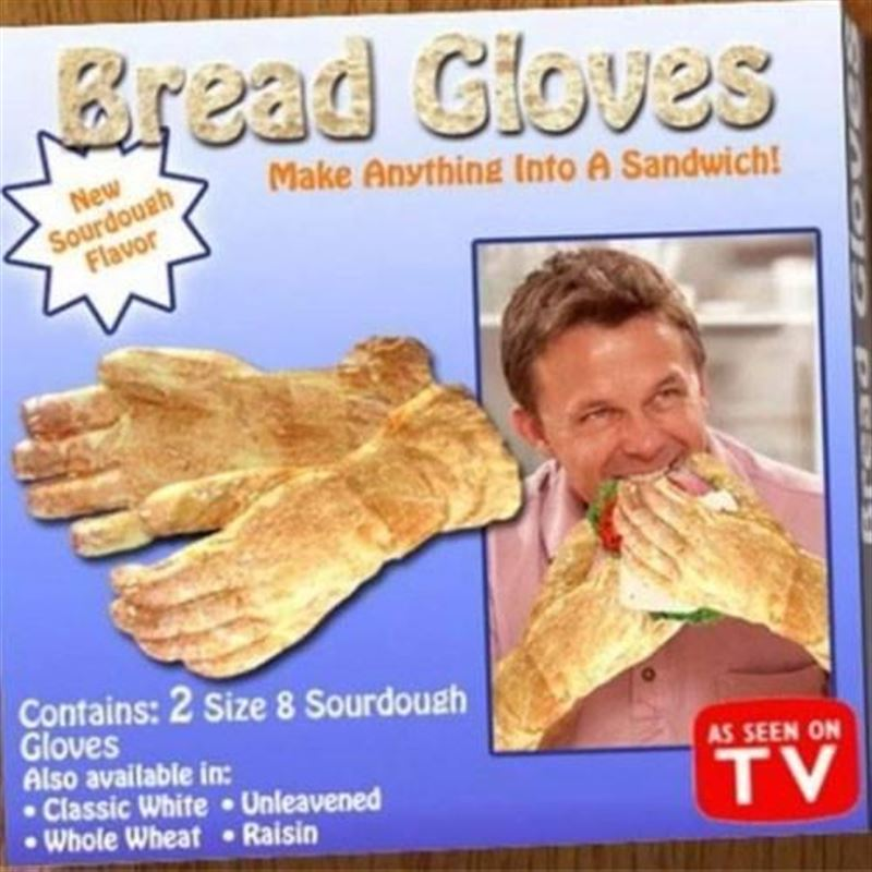Good Way to Make a 'Hand' Sandwich-15 Most Inappropriate Products Ever Made