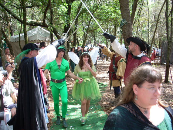 Peter Pan and Tinker Bell Wedding-15 Most Bizarre Themed Weddings Ever