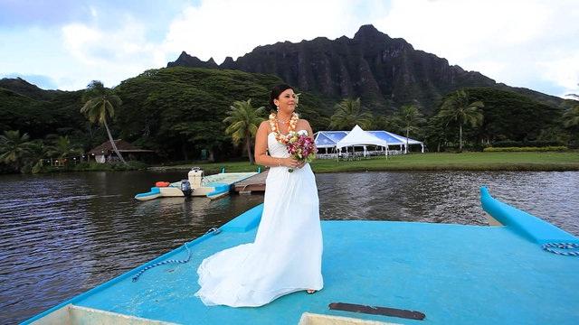 Kualoa Ranch, Oahu-24 Most Beautiful Wedding Locations In Hawaii