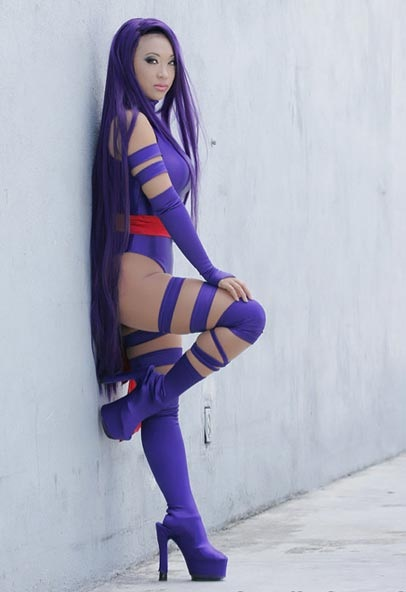 Purple is the color-Best Cosplays By Girls