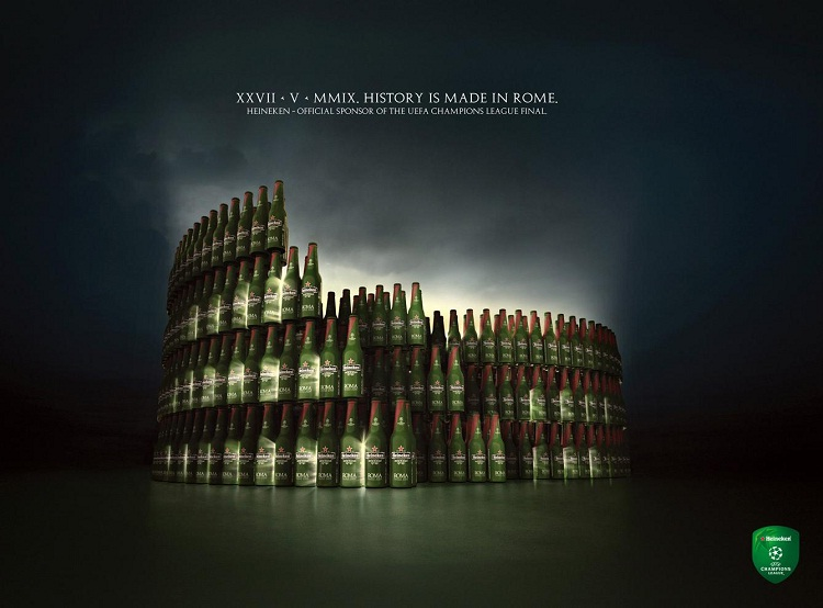 Soccer and beer-Most Creative Ads Ever