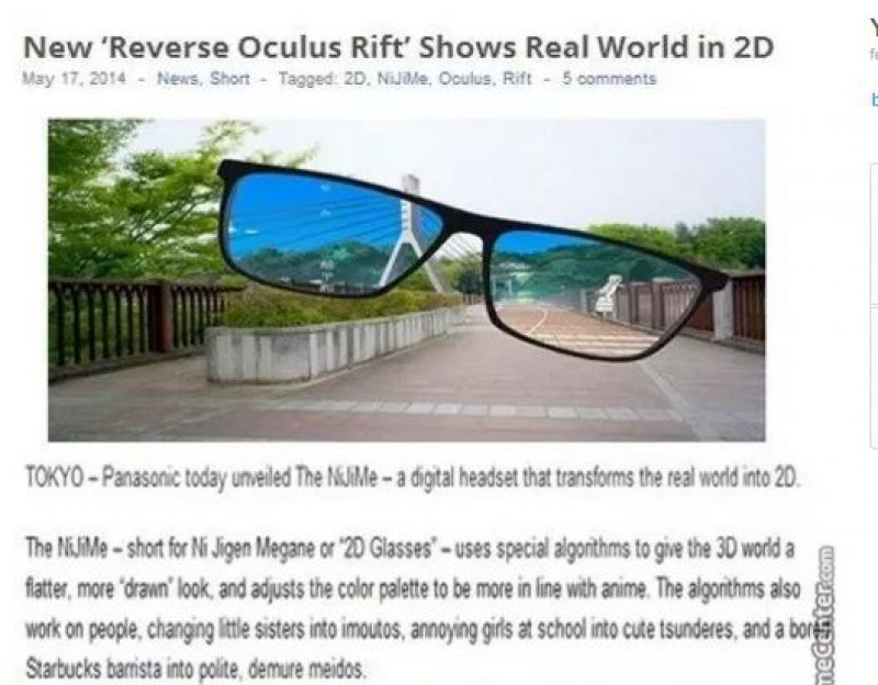 """Watch World in 2D with These Glasses-15 Amazing Photos That Will Make You Say """"What A Time To Be Alive."""""""