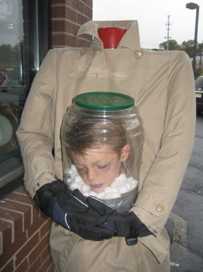 Headless Boy Costume-15 Disgusting Kids Halloween Costumes Ever
