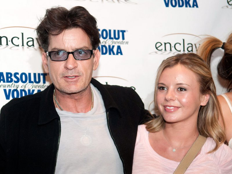 Charlie Sheen And Bree Oslon-Charlie Sheen And His 13 Well Known Girlfriends