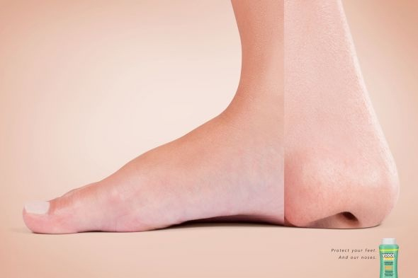 Smelly feet-Most Creative Ads Ever