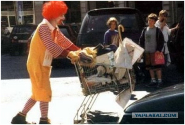 Ronald McDonald Homeless Lifestyle-Sad Reality Of Ronald McDonald