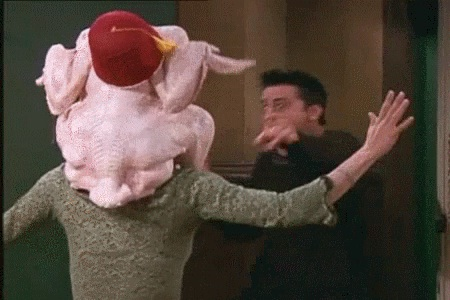 We wished for a chicken surprise-Why We Loved Friends So Much