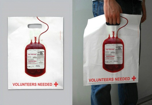 Blood Donor-24 Most Creative Bag Ads
