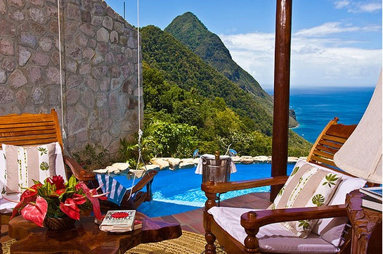 Ladera Resort, St. Lucia-Most Amazing Hotels Around The World