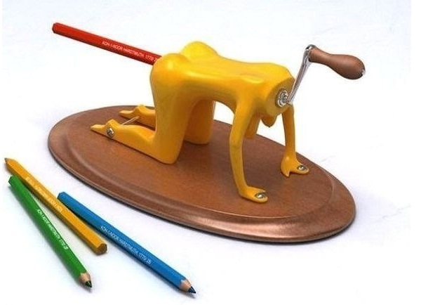 Ooh! Ouch!-Creative Pencil Sharpeners