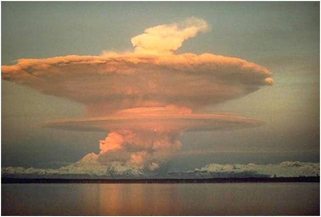 Mushroom Cloud-Amazing Cloud Formations