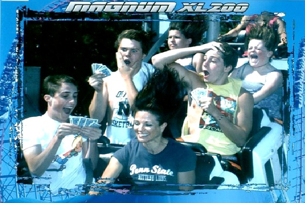 Playing Cards-12 Funniest Rollercoaster Pictures