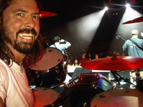 Dave Grohl-Rock Star Selfies