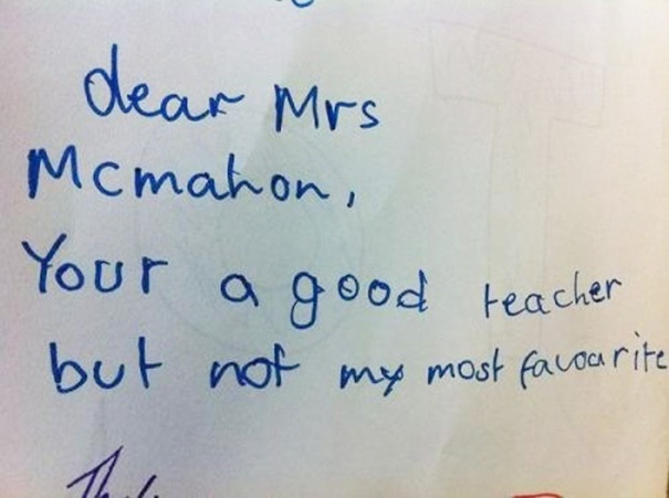 Straight to the point-Hilarious And Honest Notes From Kids