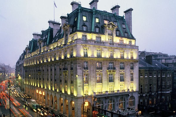 The Ritz, London-Most Famous Hotels Around The World