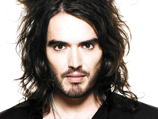 Russell Brand-Celebrities Who Don't Drink At All