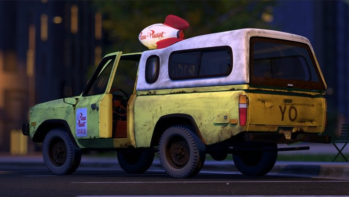 """Pizza planet delivery truck-Little Known Things About """"Toy Story"""" Trilogy"""