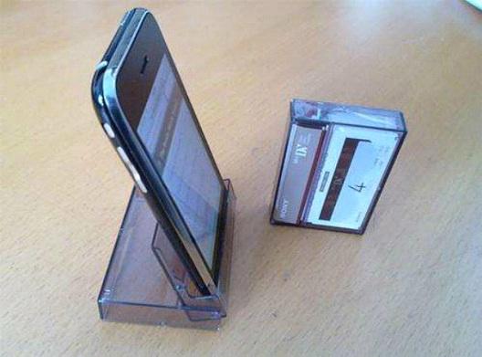 Mini Cassette Case Stand-Best DIY Phone Accessories