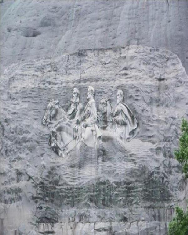Stone Mountain-Amazing Mountain Carvings