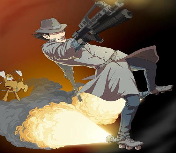 Inspector Gadget-Bad Versions Of Popular Cartoon Characters