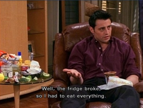 We approve of Joey's logic-Why We Loved Friends So Much