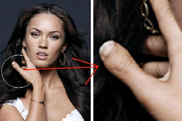 Megan Fox - Stubby Thumb-15 Celebrities With Strange Physical Flaws You Probably Don't Know About