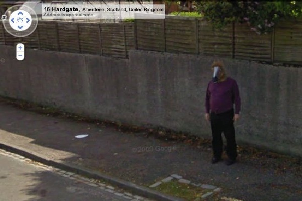 Horses head-Coolest Google Street Finds