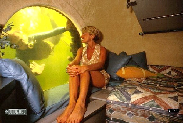 Jules Underwater Lodge-Weirdest Hotels In The World