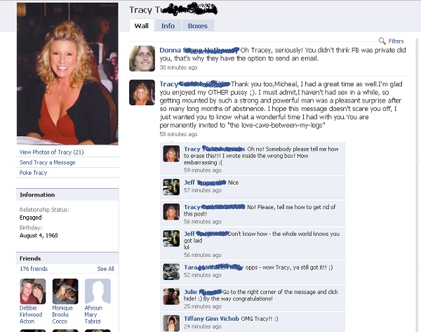 Too much info-12 Most Embarrassing Yet Hilarious Facebook Posts You'll Ever Read