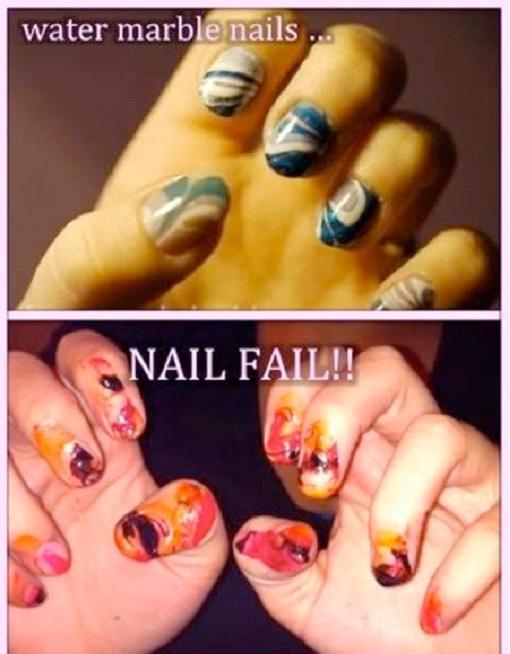 Nail Fail-Hilarious Pinterest Fails