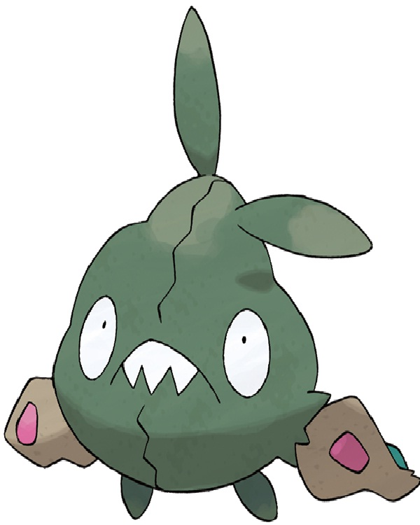 Trubbish-Disgusting Looking Pokemon Characters