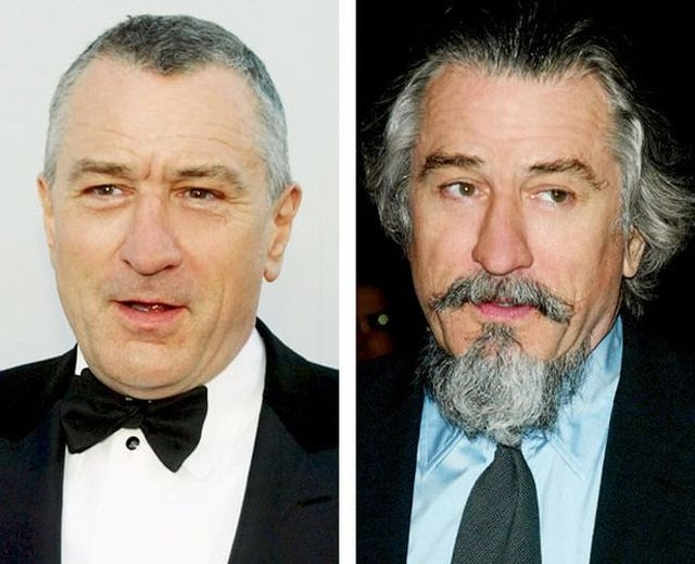 Robert de Niro-12 Images That Show A Beard Makes You Look Different