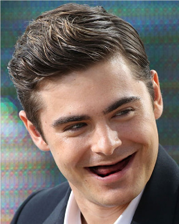 Zac Efron-Celebs Without Teeth