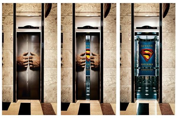 Super-elevator!-Creative Elevator Ads