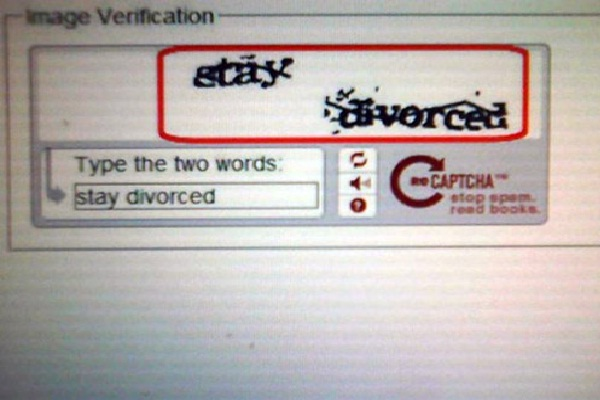 Offering advice?-Most Hilarious Captchas