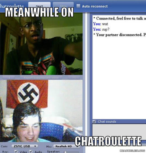 Ideas collide-24 Hilarious Chatroulette Chats That Will Make You Laugh Out Loud