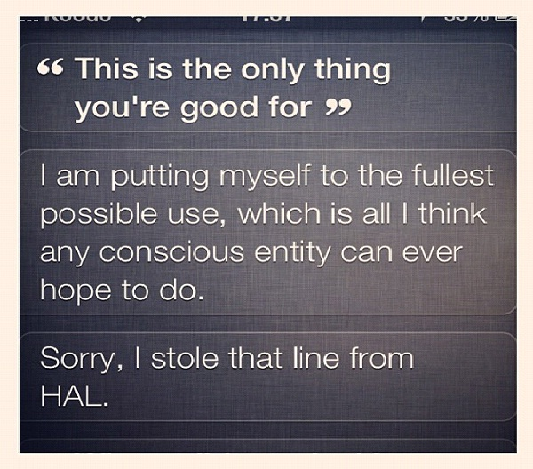 No Good Siri Goes Unpunished-12 Funny Conversations You Can Have With Siri