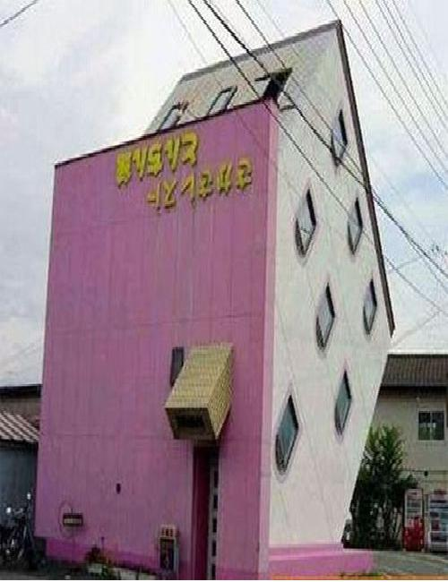 Its all about the angles-Weirdest Houses In The World