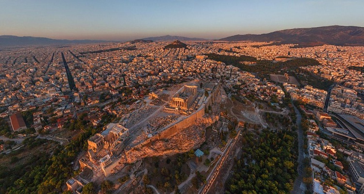 Athens-How Our World Appears To A Bird