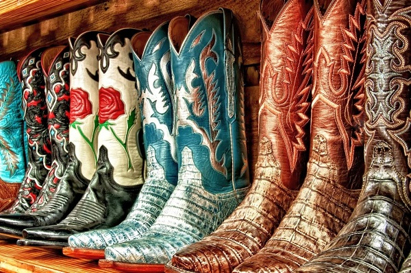 Cowboy boots-Dumbest Laws In California
