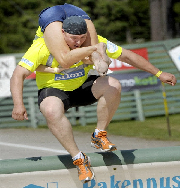 Wife Carrying-Weirdest Competitions Around The World
