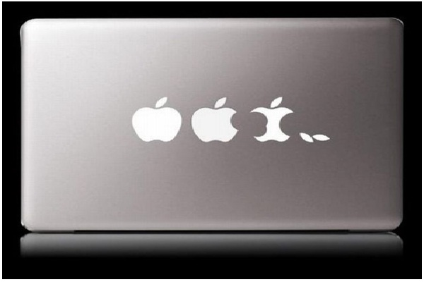 Apple Progression-Funny MacBook Stickers