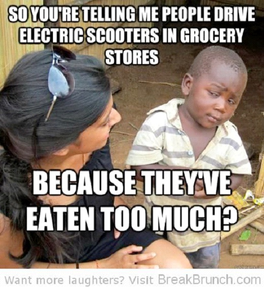 On Eating Too Much-12 Best Skeptical Third World Kid Memes Ever