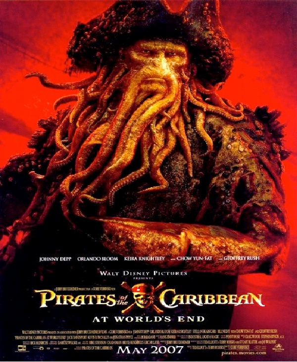 Pirates Of The Caribbean: At World's End - $300M-Most Expensive Films Till Now