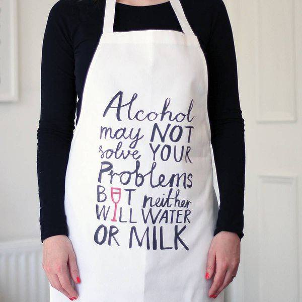Aprons With Messages And Jokes-Creative Cooking Aprons To Buy